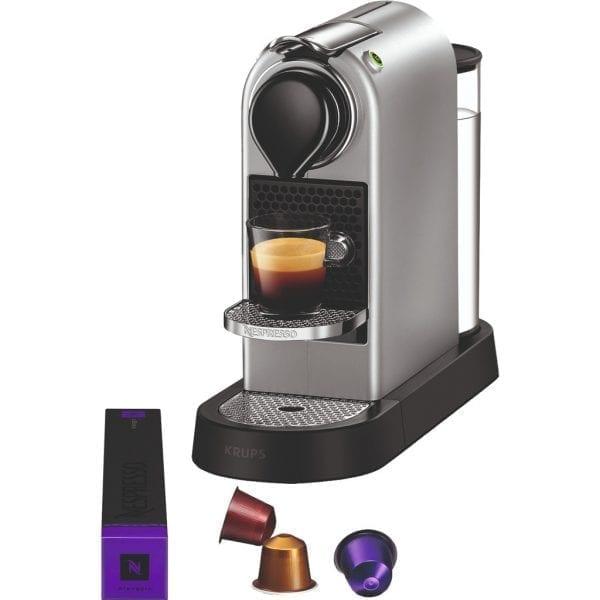 Krups Nespresso Citiz XN741B Zilver