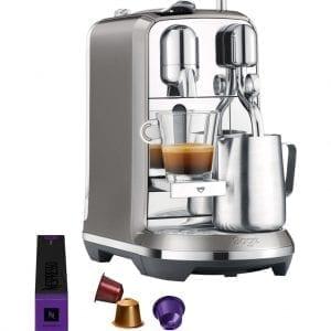 Sage Nespresso Creatista Plus SNE800SHY Smoked Hickory