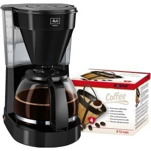 Melitta Easy II Zwart + Scanpart Permanent Filter