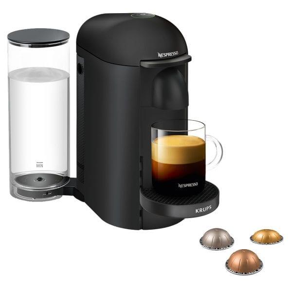 Krups Nespresso Vertuo Plus Deluxe XN903N Mat Zwart
